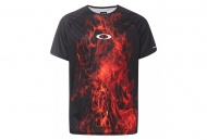 OAKLEY MTB SS Tech Tee, Flames
