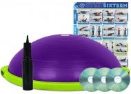 Balanční míč BOSU® Build Your Own, fialová/zelená