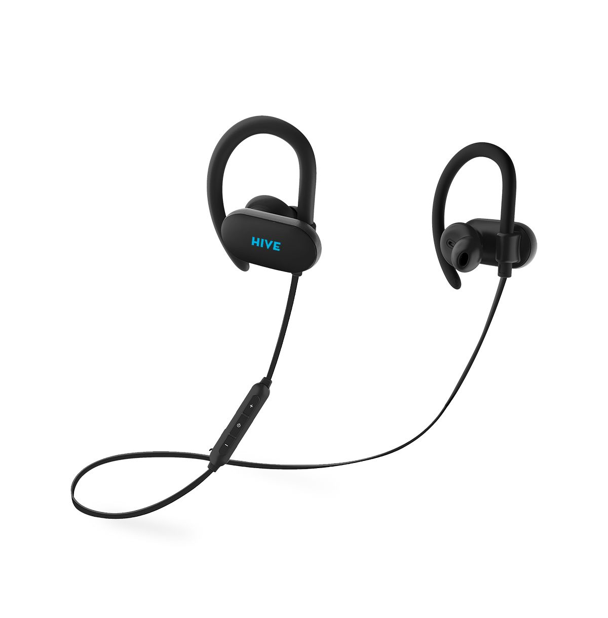 Bluetooth sluchátka NICEBOY Hive Sport 2 bluetooth sluchátka, černá