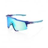 100% SpeedCraft LL - Matte Metallic Into the Fade Blue Topaz/Blue Multilayer Mirror