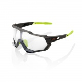 100% SpeedTrap Soft Tact Cool Grey/Photochromic lens