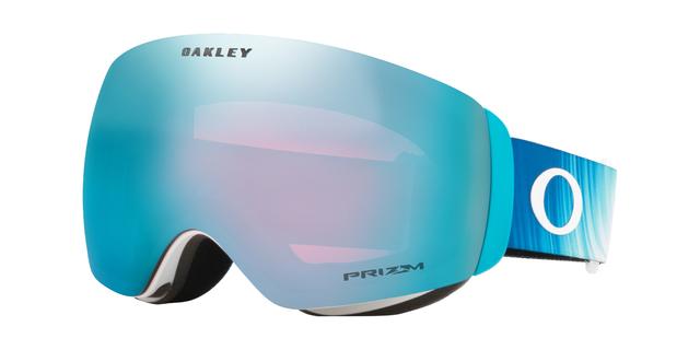 Brýle OAKLEY Flight Deck XM Mikaela Shiffrin SIG Aurora Blue w/Prizm Sapphire Iridium GBL, OO7064-83