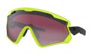 OAKLEY Wind Jacket 2.0 Neon Retina w/Prizm Snow Black