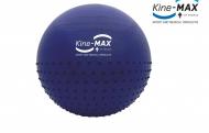 Kine-MAX Profesional Gym Ball 65cm, Modrý