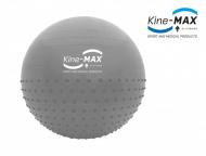 Kine-MAX Profesional Gym Ball 65cm, Stříbrný