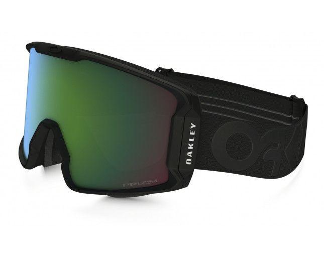Brýle Lyžařské brýle OAKLEY LineMiner Factory Pilot Blackout w/Prizm Jade, OO7070-03