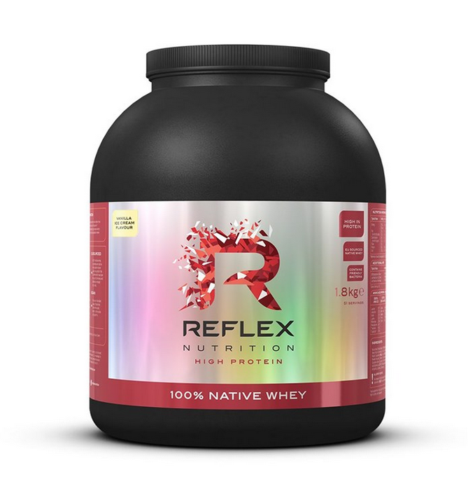 Reflex Nutrition, 100% Native Whey, 1,8kg