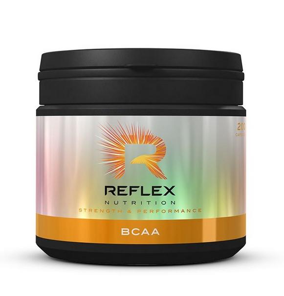 Reflex Nutrition BCAA, 200 kapslí