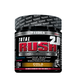 Weider, Total Rush 2.0 Fusion Force Pre-Workout Powder, 375g