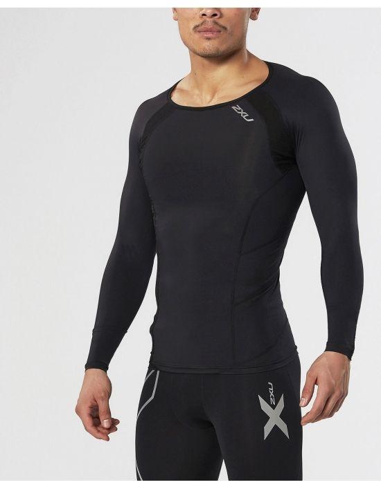 2XU Elite kompresní triko pánské, Black, MA2308a