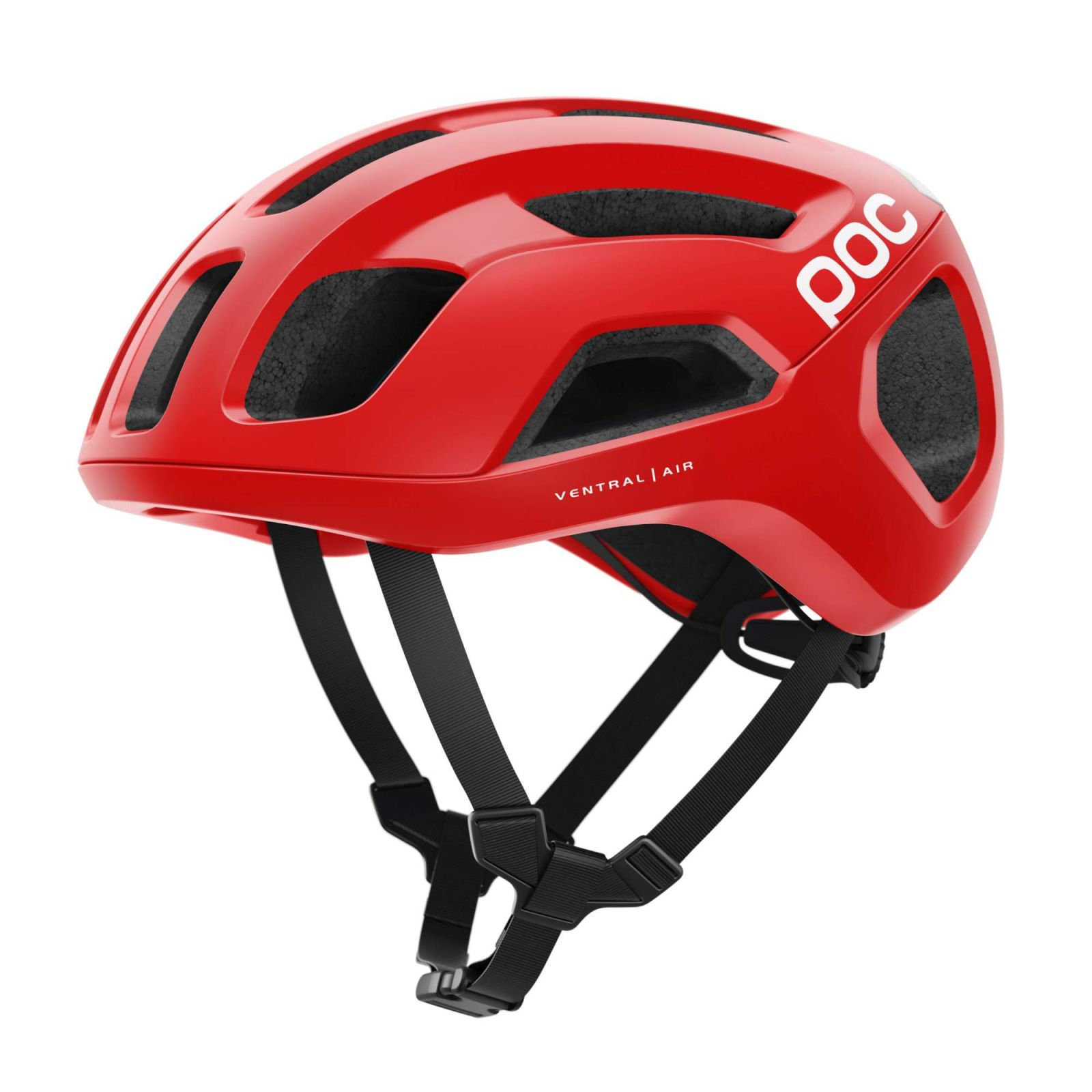 Cyklistická helma POC Ventral Air Spin, Prismane Red Matt