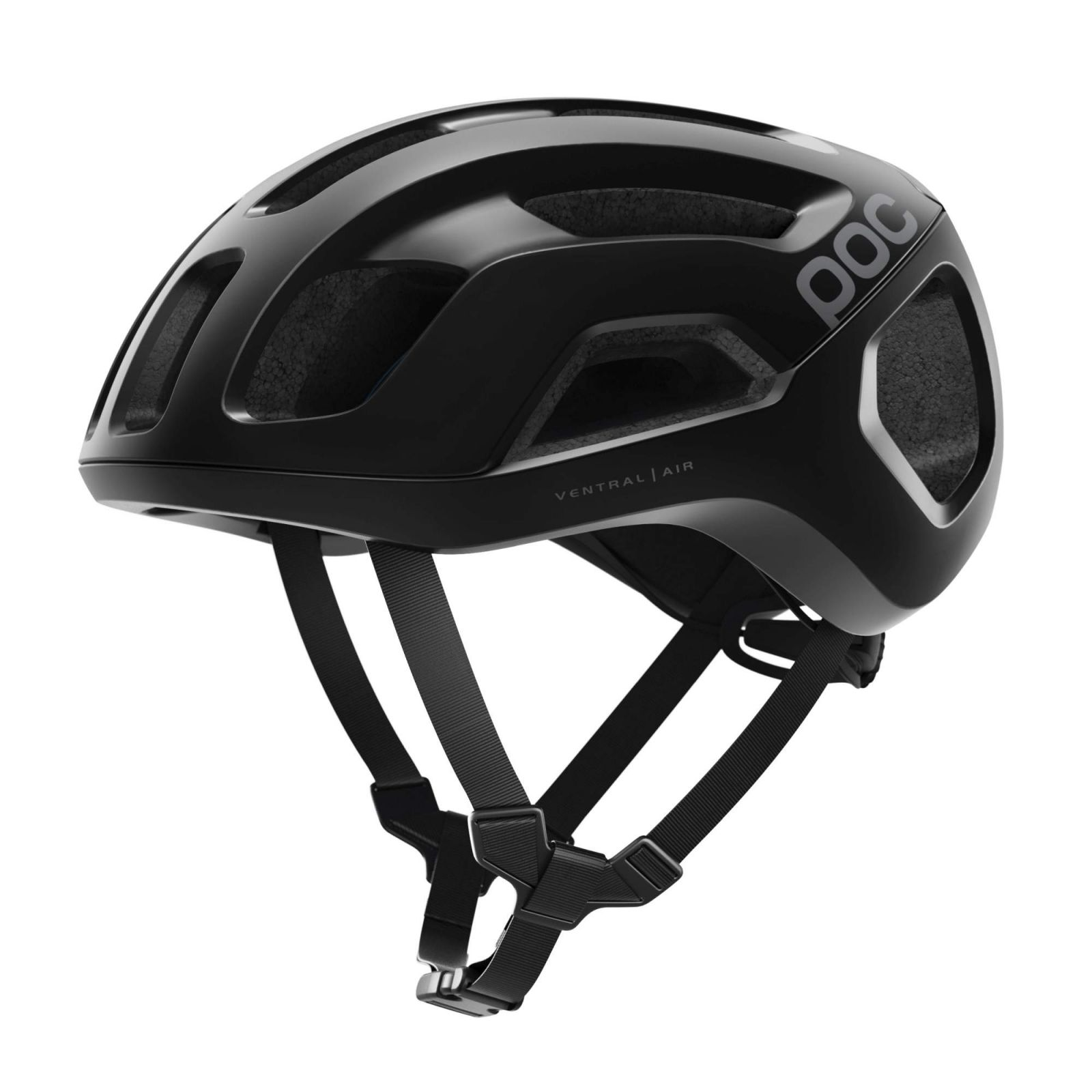 Cyklistická helma POC Ventral Air Spin, Uranium Black Matt, PC106701037