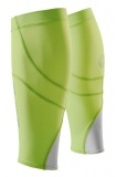 SKINS Essentials Unisex Calftights MX, Fluro Apple