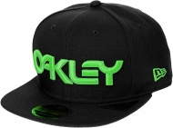 OAKLEY 6 Panel Hat Logo, Neon Blackout