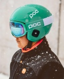 Lyžařské brýle POC Fovea Mid Clarity Comp, Emerald Green/Spektris Blue, PC404098294ONE1