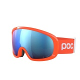 POC Fovea Mid Clarity Comp, Fluorescent Orange/Spektris Blue
