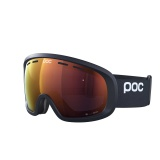 POC Fovea Mid Clarity, Uranium Black/Spektris Orange