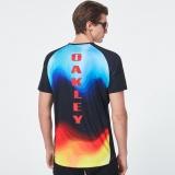 Sportovní triko OAKLEY MTB SS Tech Tee, Multicolor Gradient, FOA400848-97C