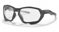OAKLEY Plazma - Matte Carbon w/Clear to Black Iridium Photochromic