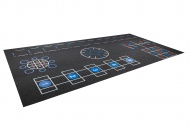 Trendy Sport Rubber Flooring ProFuTra, 40,5m2