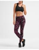 2XU Print Fitness Mid-Rise Compression legíny dámské, Botanica