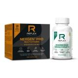 Reflex Nutrition Nexgen® PRO + Digestive Enzymes, 120 kapslí + Albion Magnesium, 90 kapslí