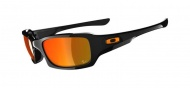 OAKLEY Fives Squared - Polished Black Moto GP/Fire Iridium