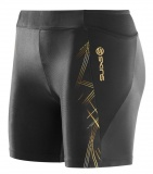 SKINS A400 GOLD Womens Shorts - Black