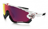 OAKLEY Jawbreaker - Polished White w/Prizm Road