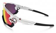 Brýle OAKLEY Jawbreaker - Polished White W/Prizm Road
