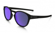 OAKLEY Latch - Matte Black w/Violet Iridium