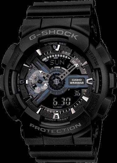 Hodinky CASIO G-Shock GA 110-1B