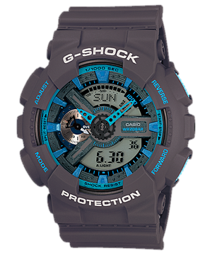 Hodinky CASIO G-Shock GA 110TS-8A2