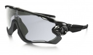OAKLEY Jawbreaker - Polished Black/Clear Black Iridium Photo Photochromic Photochromatic