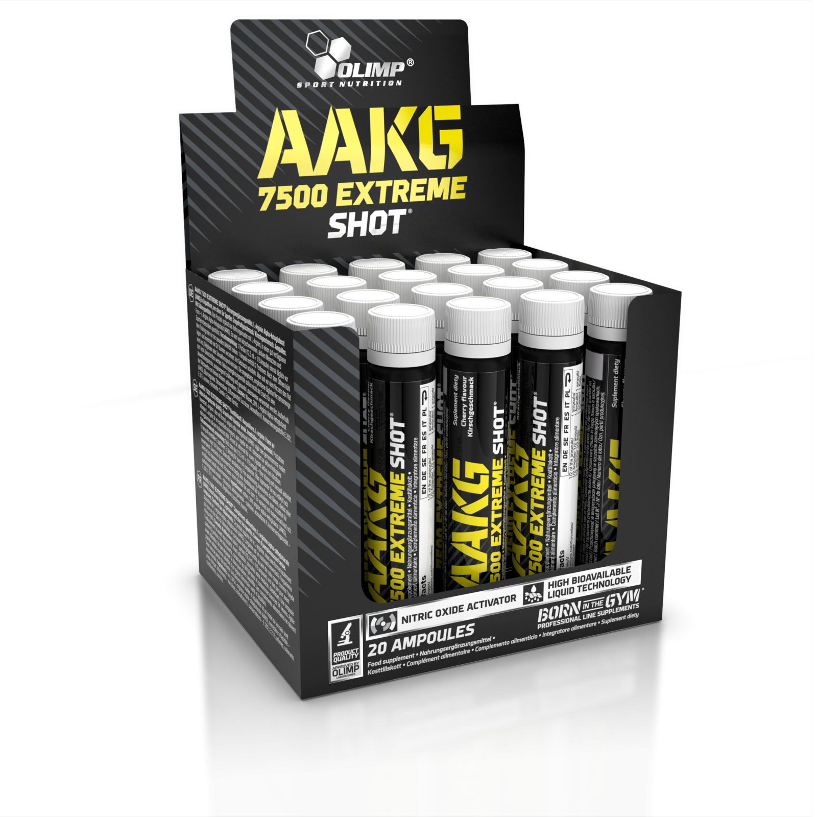 AAKG 7500 Extreme Shot, 20 x 25 ml, Olimp OLIMP Sport Nutrition