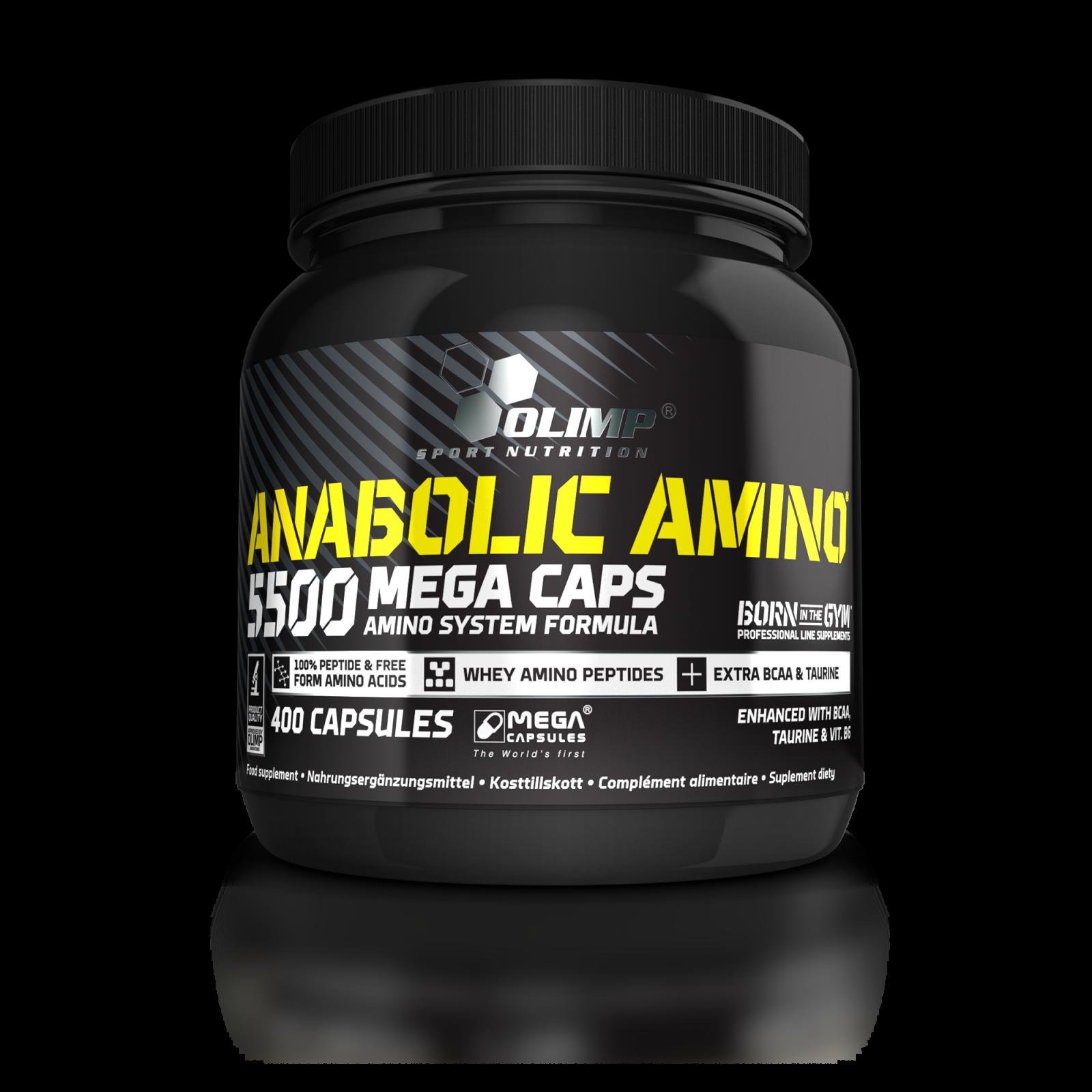 Anabolic Amino 5500, Olimp, 400 kapslí OLIMP Sport Nutrition