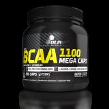 BCAA Mega Caps 1100, Olimp, 300 kapslí