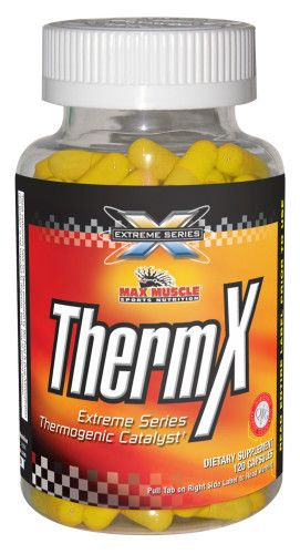 Max Muscle ThermX, 120 kapslí