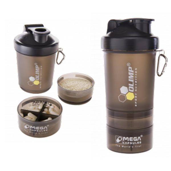 šejkr OLIMP Shaker black label 0,5l OLIMP Sport Nutrition