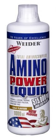 Weider, Amino Power Liquid, 1000 ml, Cola