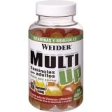 Weider, Multi UP, želatinové bonbóny multivitamín, 80 ks, Pomeranč a citrón